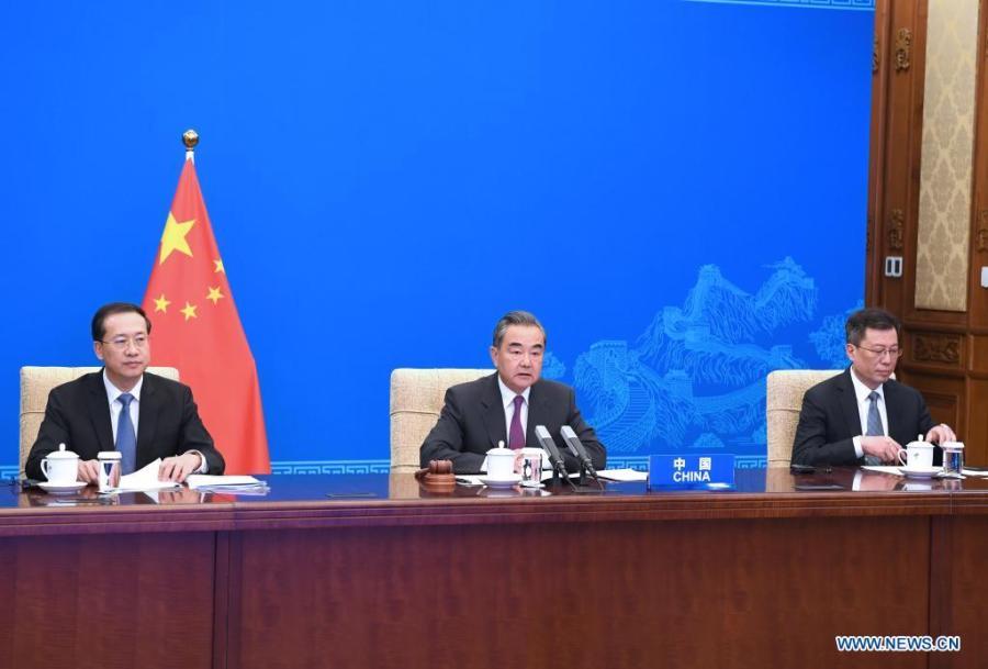 -- Le conseiller d'Etat et ministre des Affaires étrangères de la Chine, Wang Yi