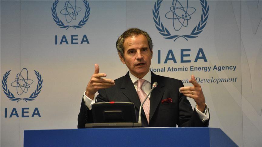 le Directeur général de l'Agence internationale de l'énergie atomique (AIEA) Rafael Mariano Grossi