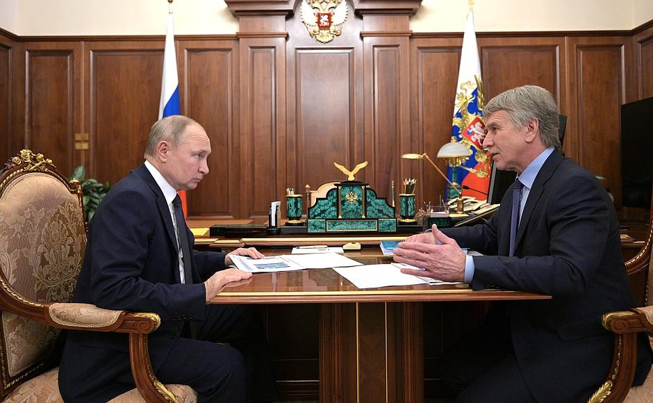 NOVATEK PH 1 SUR 4 Rencontre avec le président du conseil d'administration de NOVATEK, Leonid Mikhelson - 17 mai 2021 - 13h40