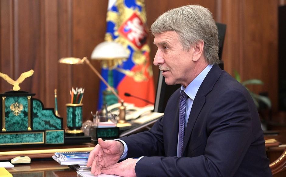 NOVATEK PH 2 SUR 4 Rencontre avec le président du conseil d'administration de NOVATEK, Leonid Mikhelson - 17 mai 2021 - 13h40