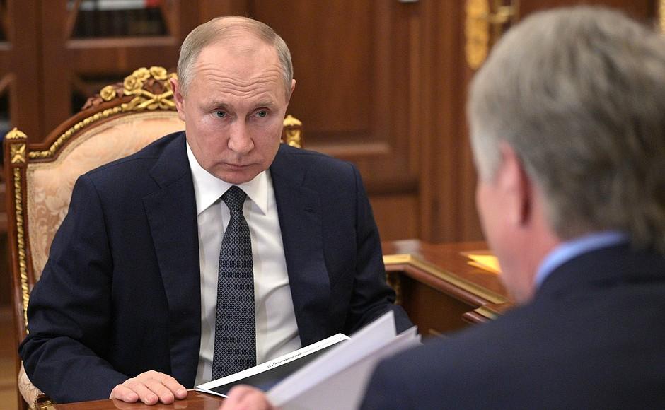 NOVATEK PH 3 SUR 4 Rencontre avec le président du conseil d'administration de NOVATEK, Leonid Mikhelson - 17 mai 2021 - 13h40
