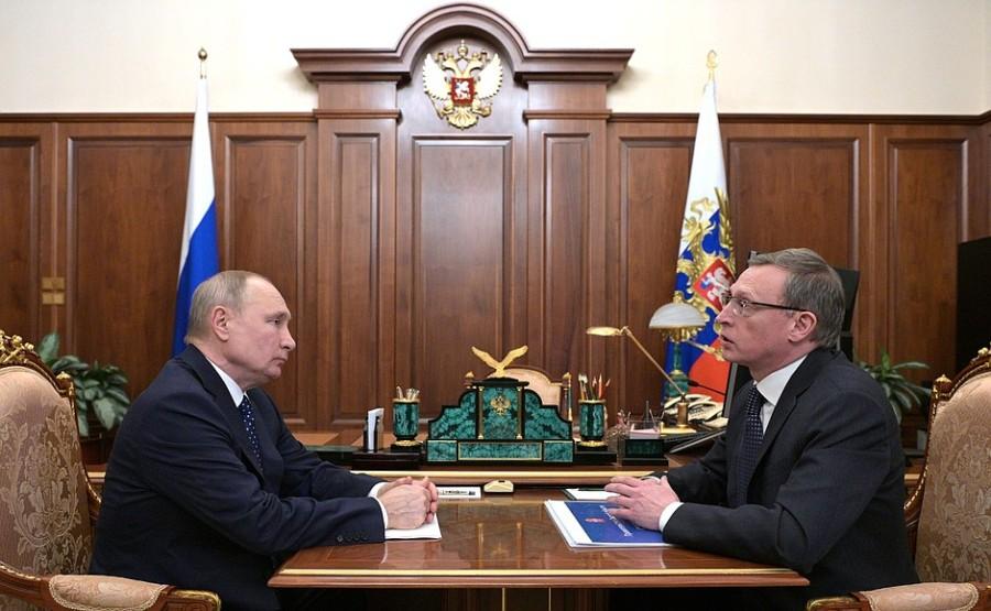 OMSK PH 1 -- 4 Réunion de travail 12.05.2021 avec le gouverneur de la région d'Omsk, Alexander Burkov - 12 mai 2021 - 14h30