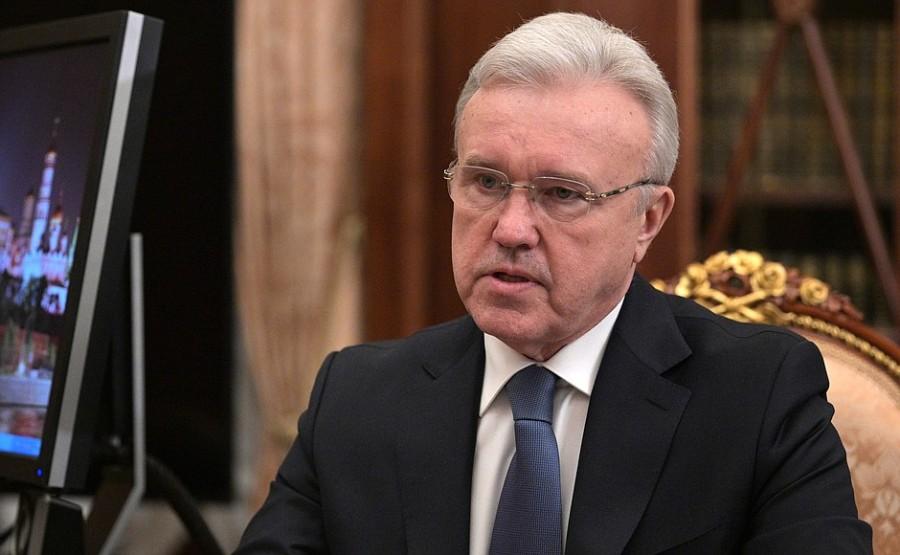 Réunion de travail PH 2 -- 4 avec le gouverneur du territoire de Krasnoïarsk Alexander Uss - 11 mai 2021 - 13h30