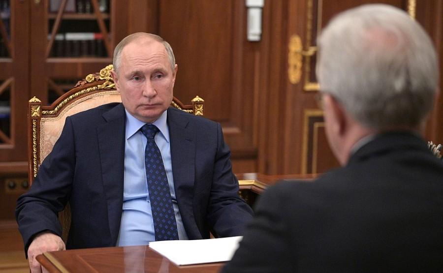 Réunion de travail PH 3 -- 4 avec le gouverneur du territoire de Krasnoïarsk Alexander Uss - 11 mai 2021 - 13h30