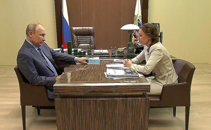 russie Rencontre avec la commissaire présidentielle aux droits de l'enfant Anna Kuznetsova - 31 mai 2021 – 12h30 à Sochi