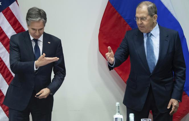 Antony Blinken, Sergey Lavrov