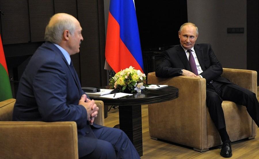 SOCHI 1 SUR 3 DU 28.05.2021 Rencontre avec le président de la Biélorussie Alexander Lukashenko - 28 mai 2021