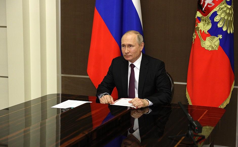 SOCHI 1 XX 3 Réunion avec les membres permanents du Conseil de sécurité - 28 mai 2021 – 16h25 - Sochi