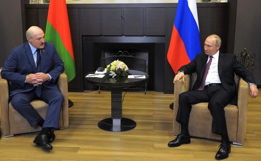 SOCHI 3 SUR 3 DU 28.05.2021 Rencontre avec le président de la Biélorussie Alexander Lukashenko - 28 mai 2021