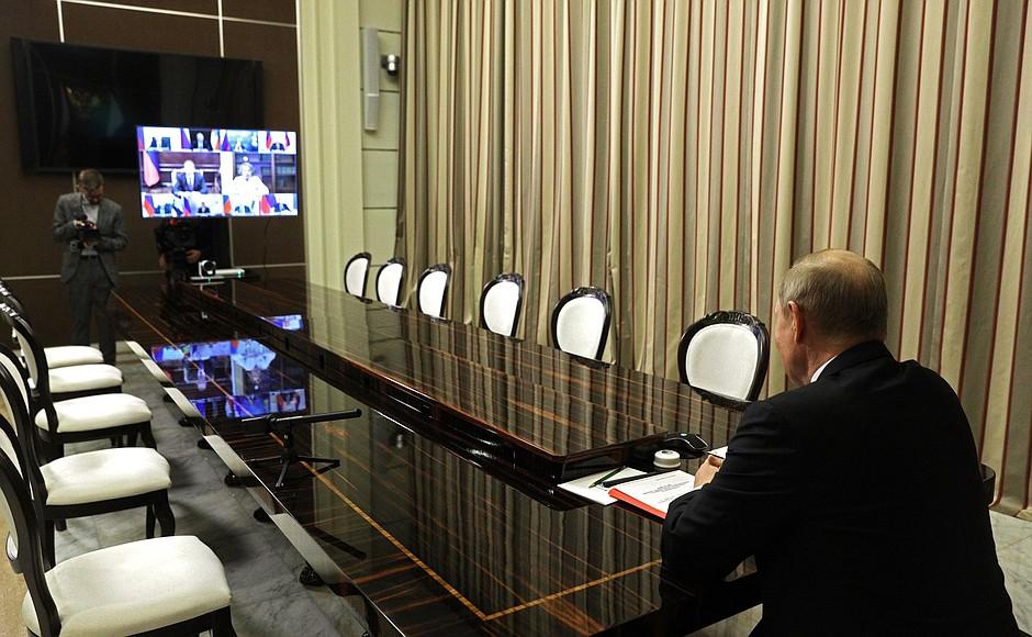 SOCHI 3 XX 3 Réunion avec les membres permanents du Conseil de sécurité - 28 mai 2021 – 16h25 - Sochi