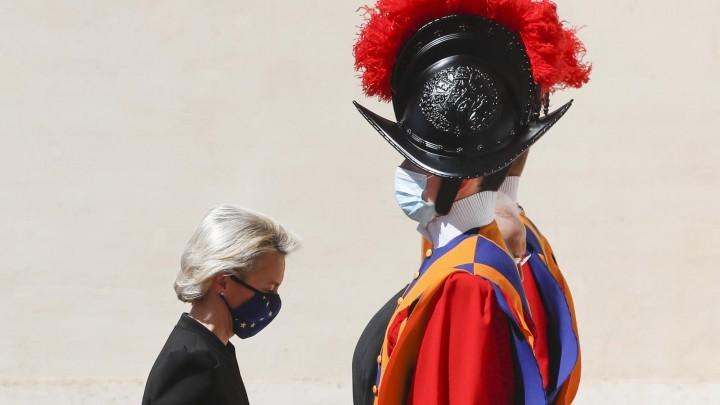 Ursula von der Leyen, à Rome 22.05.2021
