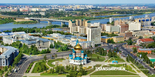 ville Omsk,