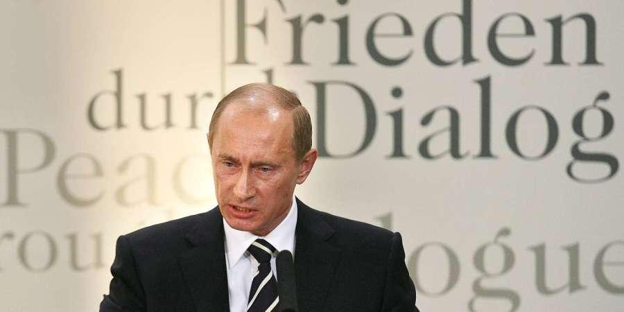Vladimir Poutine prononcé le 10 février 2007 à la Conférence de Munich sur la sécurité 2