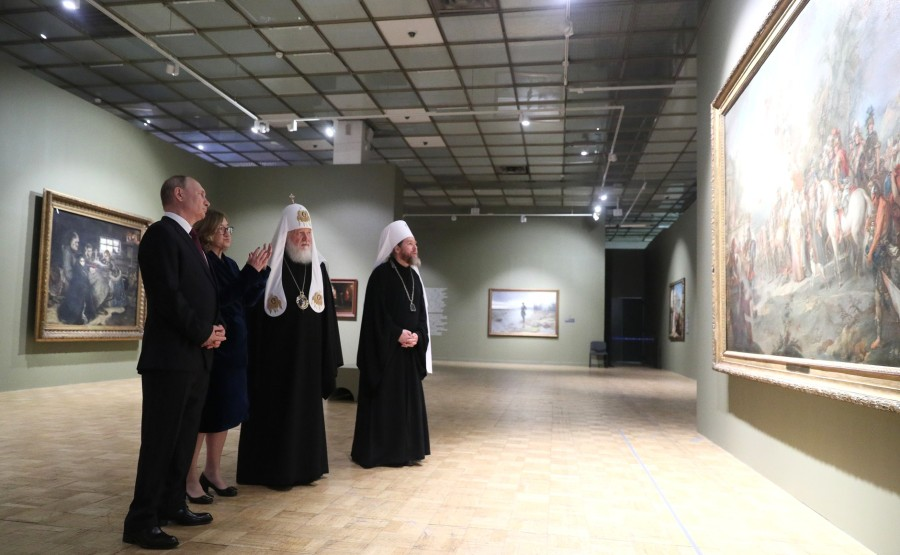 2S9 Visite de la galerie Tretiakov
