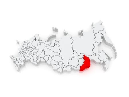 35407811-carte-de-la-fédération-de-russie-territoire-de-transbaïkalie-3d