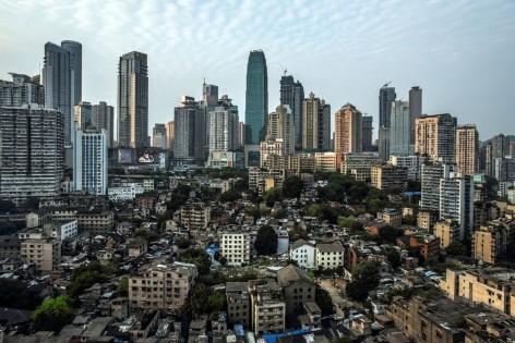 à Chongqing, en Chine