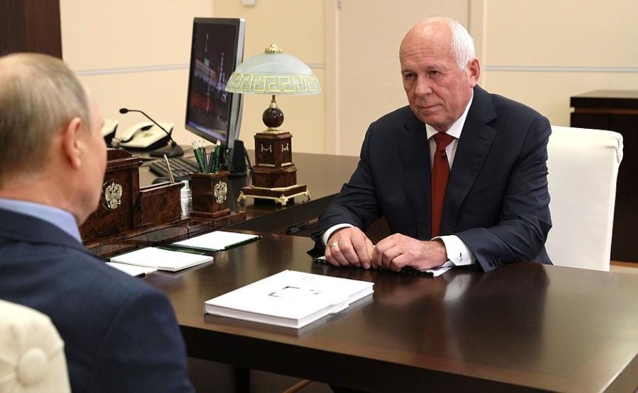 AVION 1 SUR 3 DU 24.06.2021 le chef de la société d'État de Rostec, Sergueï Chemezov