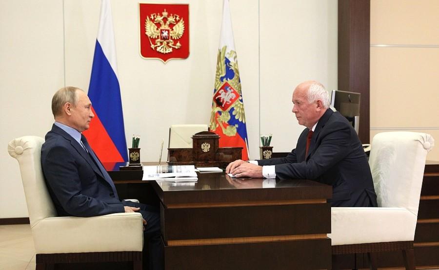 AVION 3 SUR 3 DU 24.06.2021 le chef de la société d'État de Rostec, Sergueï Chemezov