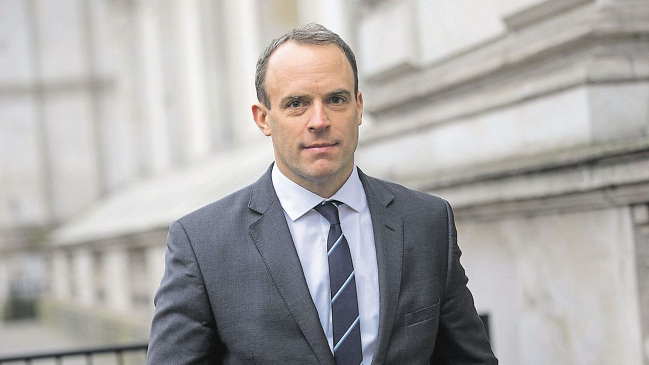Dominic Raab, Secrétaire d'État aux Affaires étrangères, ANGLETERRE