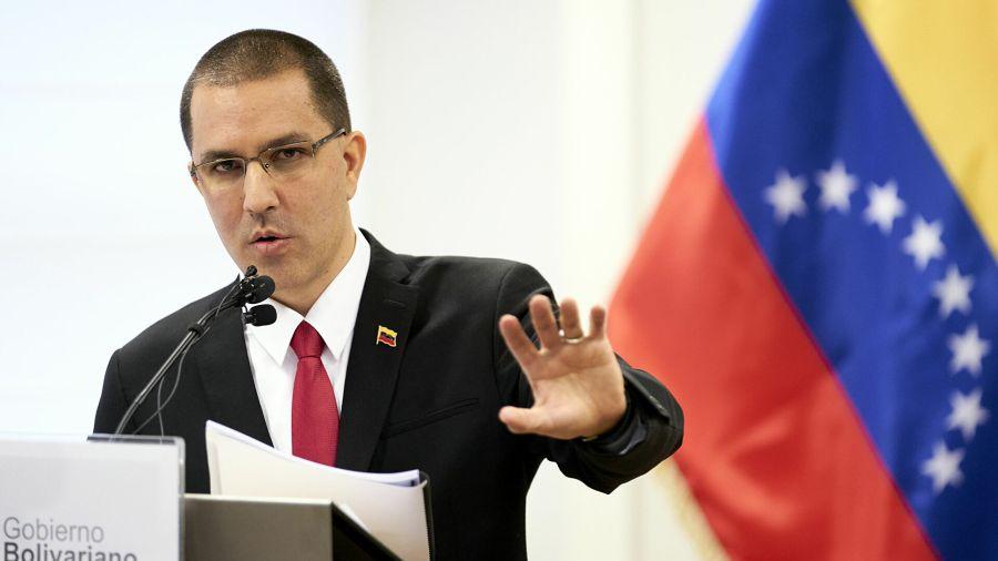 Jorge Arreaza, VENEZUELA AFF ETRANGERES