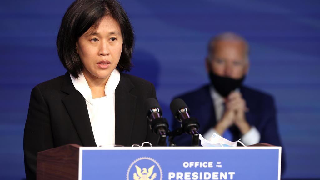 la Représentante américaine au Commerce Katherine Tai