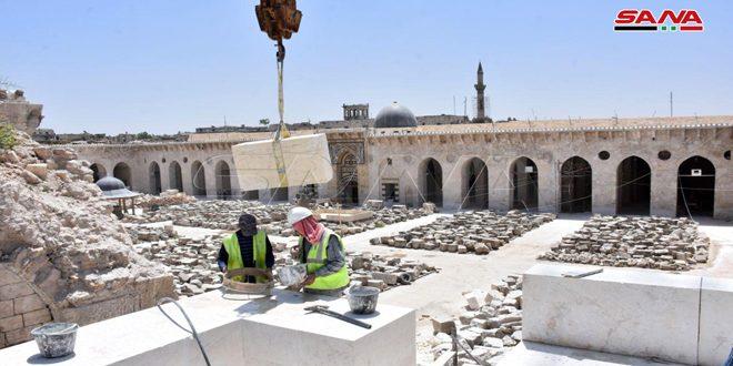 l'ancienne mosquée des Omeyyades