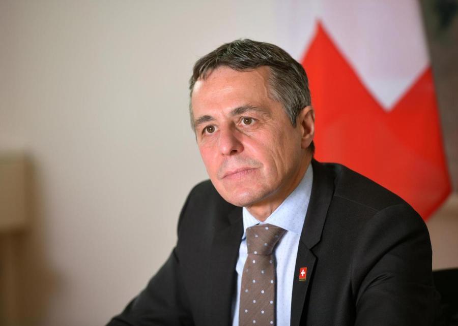 le conseiller fédéralIgnazio Cassis