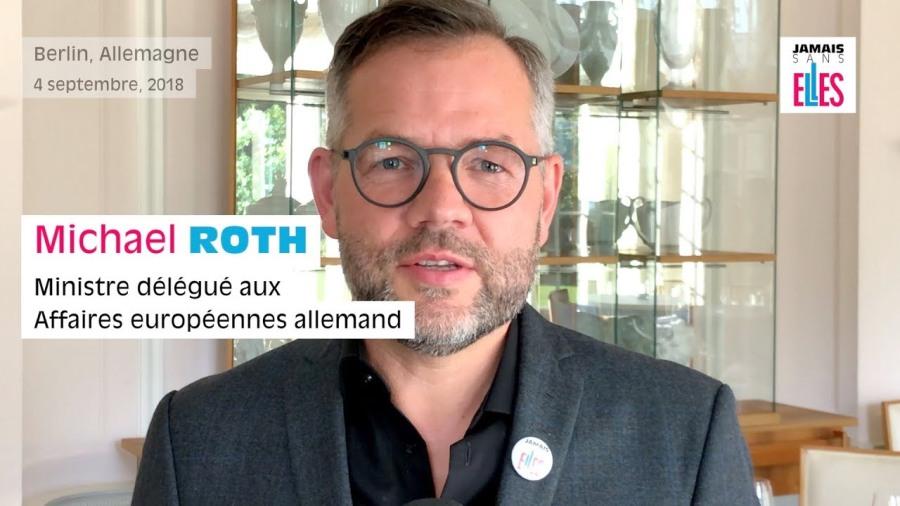 Le ministre allemand des Affaires européennes, Michael Roth