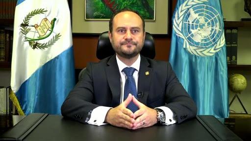 le Ministre guatémaltèque des Affaires étrangères Pedro Brolo