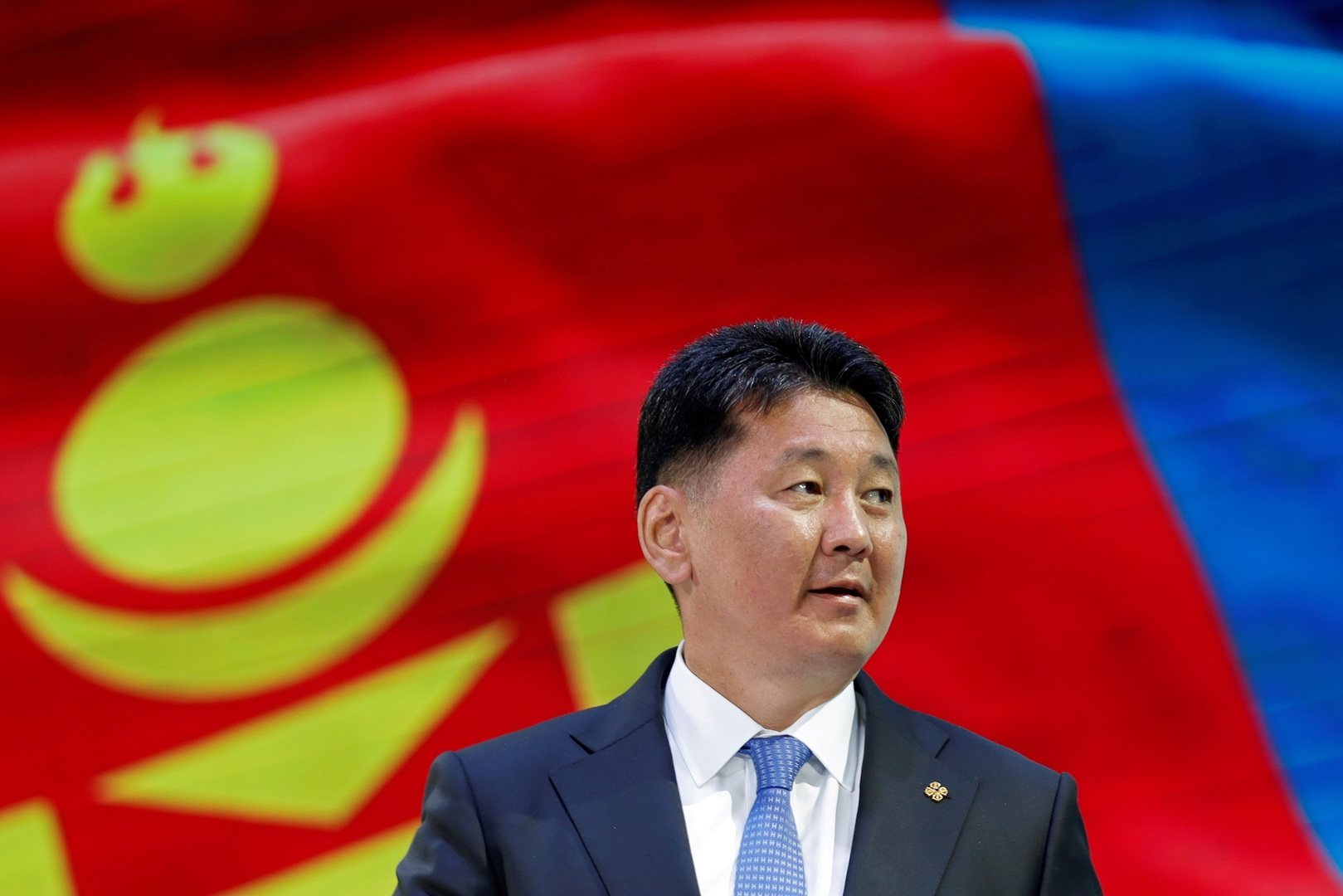 M. Ukhnaa Khurelsukh est un homme politique mongol familier