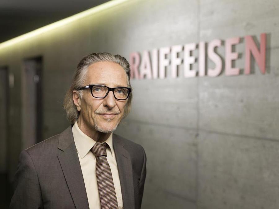 Martin Neff, chef économiste de Raiffeisen Suisse