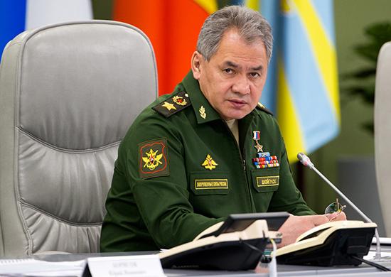 Ministre de la défense Sergueï Choïgou RUSSIE