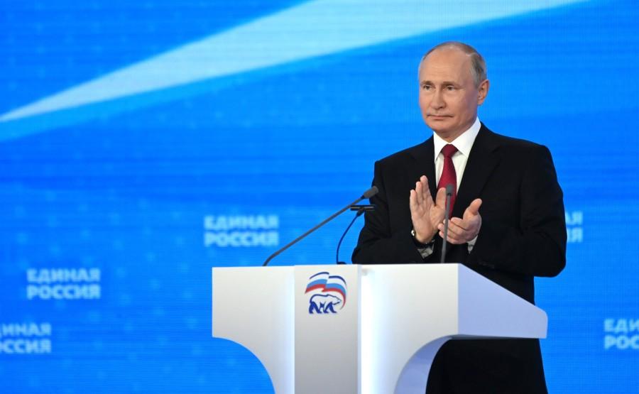 PHOTO 6 SUR 6 Président de la Russie Vladimir Poutine