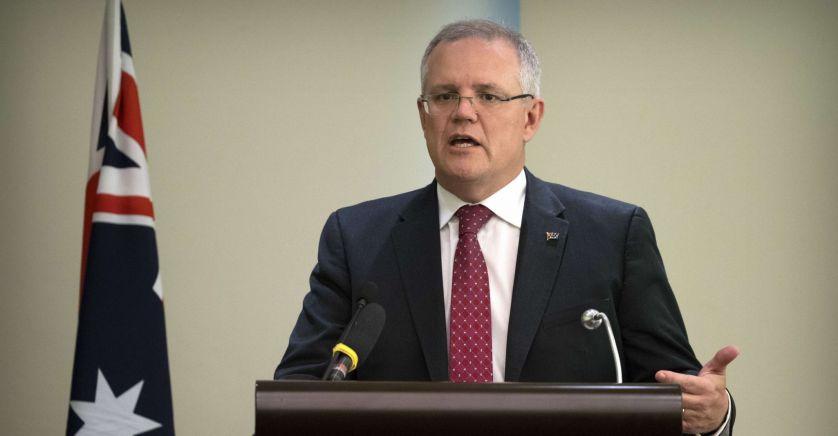 Premier Ministre australien Scott Morrison 2