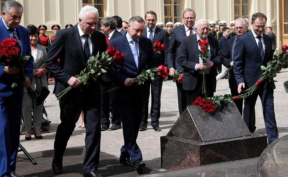 REGION LENINGRAD 3 XX 4 DU 05.06.2021. Inauguration du monument à l'empereur Alexandre III - 5 juin 2021 – 14h10