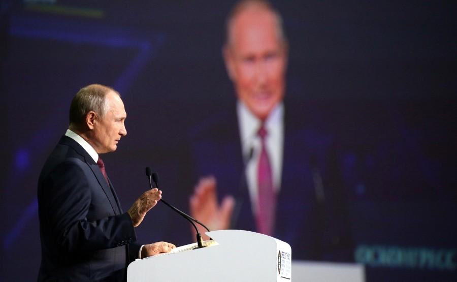SP RUSSIE 9 X 15 DU 04.06.2021 Séance plénière du Forum économique international de Saint-Pétersbourg - 4 juin 2021 - 17h20