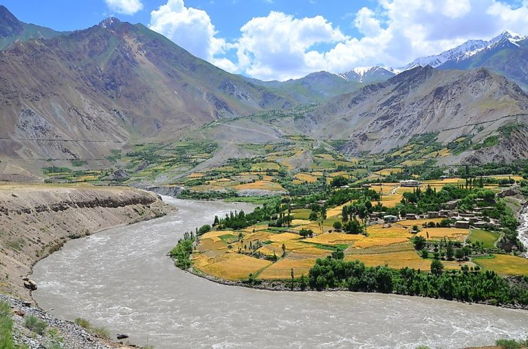 Tajik-Afghan-border