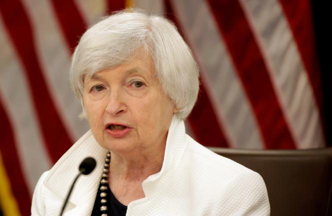 FILE PHOTO: Federal Reserve Chairman Janet Yellen speaks during a news conference after a two-day policy meeting, in Washington