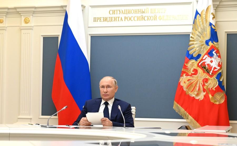 8e Forum 3 SUR 8 des régions russe et biélorusse - 1 juillet 2021 – 13h05 - Le Kremlin, Moscou