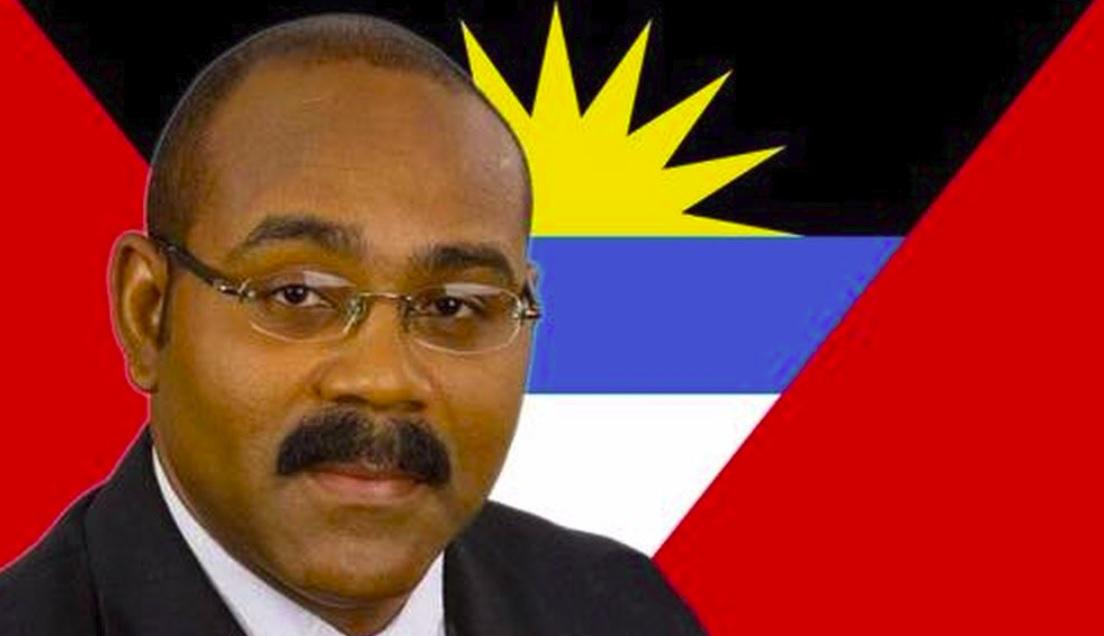 Gaston-Browne. Le Premier Ministre d'Antigua-et-Barbuda Gaston Browne