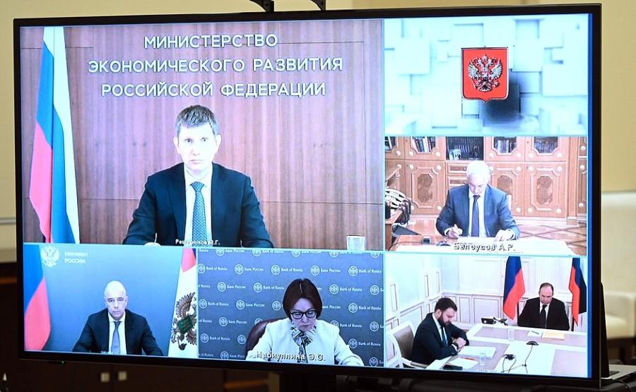Kremlin ECO 2 XX 4 - Réunion sur les questions économiques - 27 juillet 2021 - 14H35