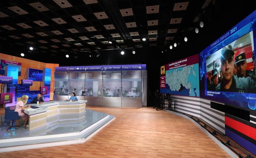 LD 14 XX 17 Ligne directe avec Vladimir Poutine - 30 juin 2021