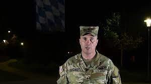Le général de brigade américain Christopher Norrie