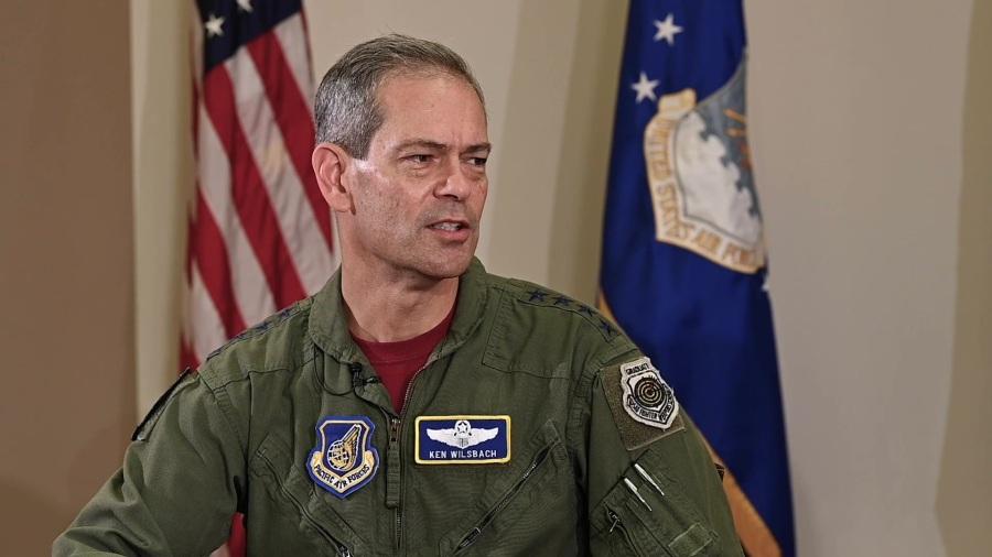 le général Ken Wilsbach