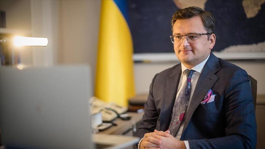 Le ministre ukrainien des Affaires étrangères, Dmytro Kuleba
