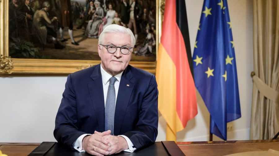 le président allemand Frank-Walter Steinmeier
