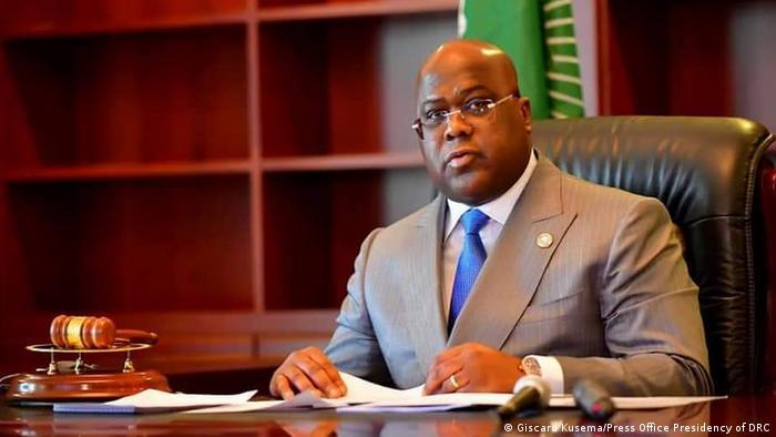 le président de l'Union africaine, le Président de la RDC Félix Tshisekedi,