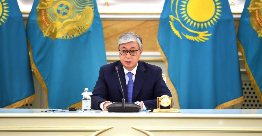 le Président du Kazakhstan [Kassym-Jomart Tokayev]