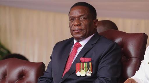 Le Président zimbabwéen Emmerson Mnangagwa