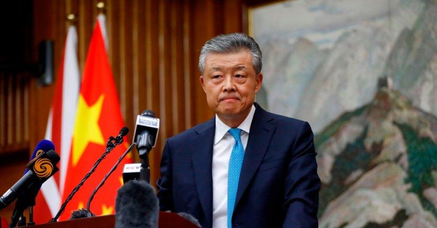 Liu Xiaoming, le Représentant spécial du gouvernement chinois